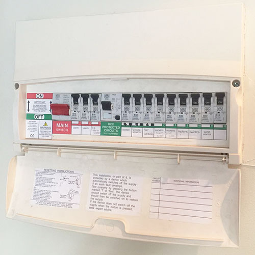 Consumer unit replacements