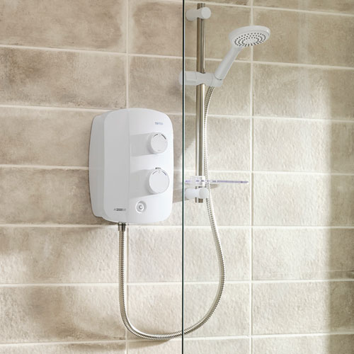 Power shower installation